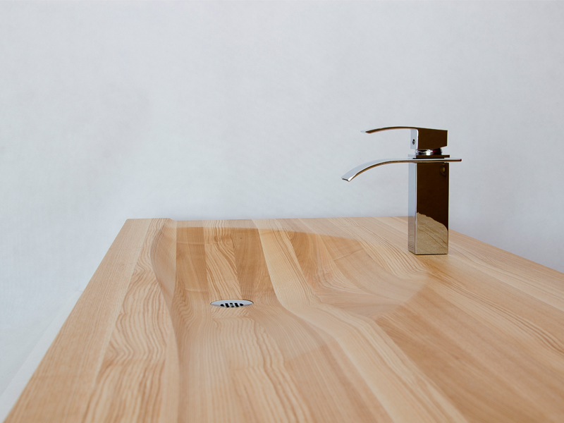 SobotaDesign - Wooden sink and bathtub - wooden basin ...